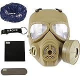HaoYK, finta maschera antigas M04, con ventilatore Turbo, attrezzo di protezione per airsoft e paintball, DE