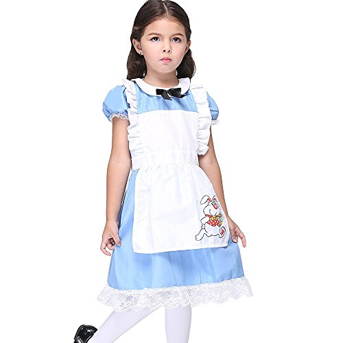 Cody Lundin Kinder Cosplay Kostüm kinder Kellner Kostüm Kleid Kinder Fancy Dress (L, foto (Dress Kellner Kostüm Fancy)