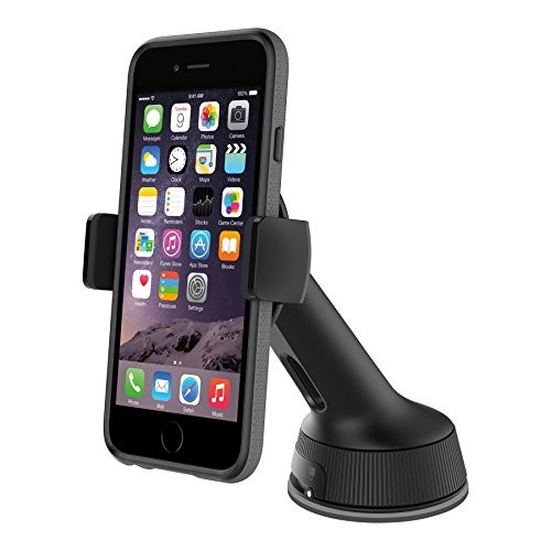 Belkin Window Mount Universal KFZ-Halterung (360 Grad drehbar, geeignet für Smartphones bis 6 Zoll) schwarz -