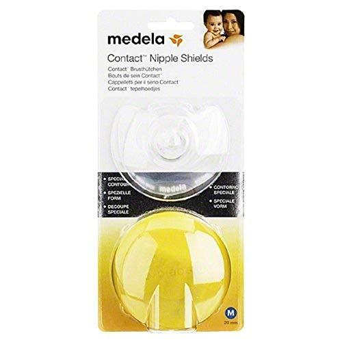 Medela Contact Brusthütchen, Gr. M, mit Aufbewahrungsbox