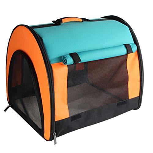 JXJL Pet Luxury Soft-Sided Cat Carrier Tragbare Hundehütte Für Katzen Kleine Hunde Und Welpen -