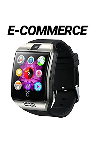 Bluetooth SmartWatch, Waterproof Smart Wrist Watch Teléfono con pantalla táctil Camera WhatsApp SIM Card, Sport impermeable Wear relojes inteligente pedometri Fitness Activity Tracker Pulsera