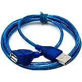 USB 2.0 man-vrouw verlengkabel - 1.5M Super lange USB 2.0 man-vrouw verlengkabel Hoge snelheid USB-verlenging dataoverdracht