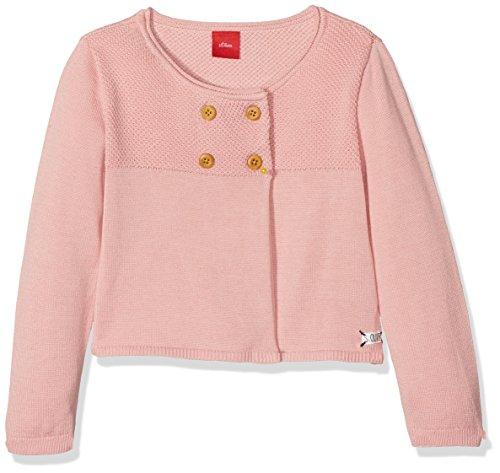 s.Oliver Baby-Mädchen Strickjacke 65.808.64.8696, (Dusty Pink 4257), 80