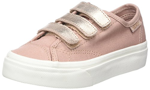 vans damen rosa metallic