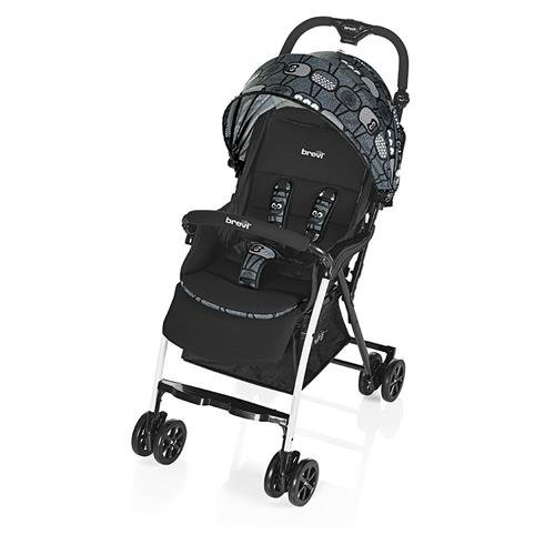 Brevi 709-577 mini large passeggino, grigio gufetti