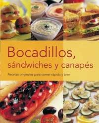 Descargar Libro Bocadillos, sandwiches y canapes (GASTRONOMÍA Y COCINA) de Ana Maria Perez
