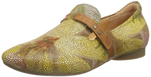 Think! Guad Slipper, Mocassins femme Marron - Braun (CARAMEL/KOMBI 54)
