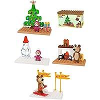 Big 800057097–playbig bloxx MB Basic Sets, construcción de juguete, color marrón