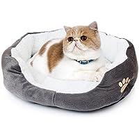 JUYUAN Nido para Mascotas Cama y Sofa Cojin Caliente Comodo para Perro Gato Perro Mascota Nido Cálido Nido Mascota Algodón