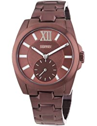 Esprit ES103592009 - Reloj de cuarzo para hombres, color marrón