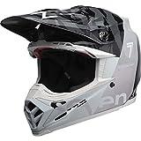Bell Helm Moto-9 Flex schwarz/chrom 7 Zonen Größe S