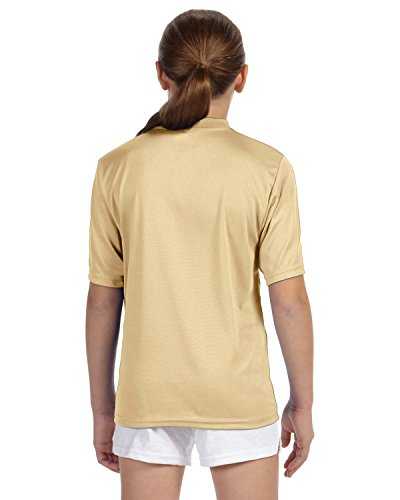 Augusta Sportswear Youth Wicking two-button Jersey Gold