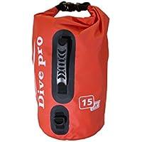 Dive Pro Dry Bag 15litros, rojo