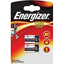 LOT DE 10 PILES ENERGIZER CR2 - 5 BLISTER A 2 PILES - LITHIUM 3V