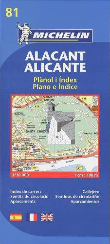 Plano Alicante E Índice (Planos Michelin)