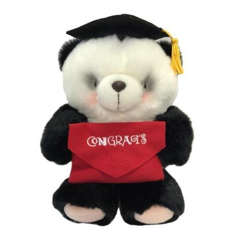 25,4cm Graduation Félicitations Forever Friends Ours Panda