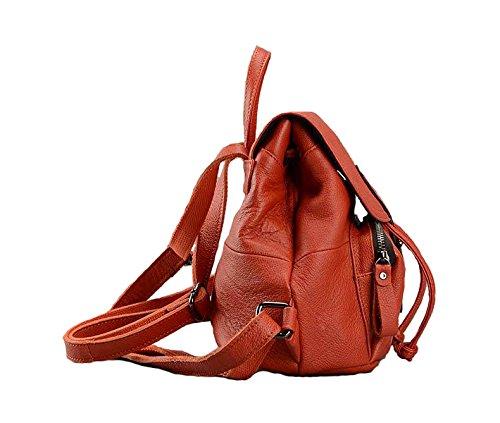 Damen Mädchen Rucksackhandtaschen Mädchen Mädchen orange orange Damen Cczimo Rucksackhandtaschen orange Cczimo Damen Rucksackhandtaschen Cczimo dnUwxvg