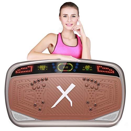 QNJM Vibration Power Plates, Vibrationstrainer, Fitness-Vibrationsgerät, Übung Fat Burning Fitness Body Shaper Gewichtsverlust (Color : C)