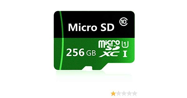 ordinateur portable 256 Go//400 Go//512 Go//1024 Go Gentai Carte m/émoire micro SD SDXC Classe 10 pour t/él/éphone portable appareil photo adaptateur gratuit