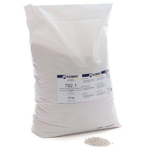 25-kg-Sack weiss Schmelzkleber Granulat KLEIBERIT 782.1 EVA Schmelzklebstoff zum Kanten leimen Möbelkanten Umleimer