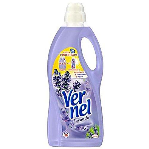 Vernel Set 9 Weichspüler lt 1,5 fresch Lavendel Waschmittel für die Wäsche Multicolor, Unica -