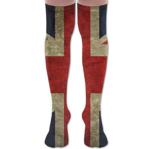 mchmcgm United Kingdom British Flag Sports Youth Knee Thigh Socken