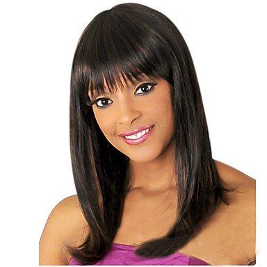 Meylee Perruques GHHMO Europe et nouvelle mode de haute qualité perruque de cheveux synthétiques longueur fil de haute température