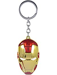 STYLISH HUNTS Iron Man Face Mask Metal Keychain Best Collectible And Gifting Item