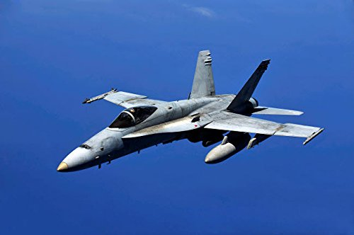 Stocktrek Images - A F/A-18 Hornet Flies a Mission in Support of Rim of The Pacific Kunstdruck (86,36 x 55,88 cm) Mission Rim