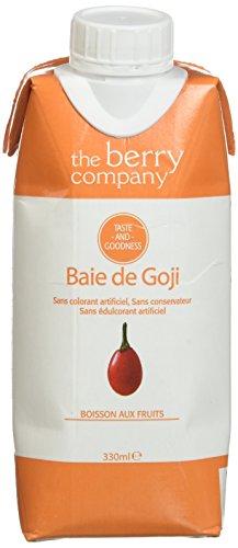 The Berry Company Jus de Goji 330 ml - Lot de 6