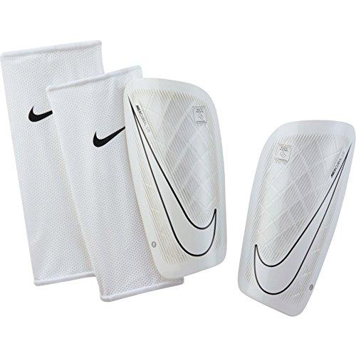 Nike Unisex-Erwachsene Mercurial Lite Schienbeinschoner, weiß (white/Black), XS