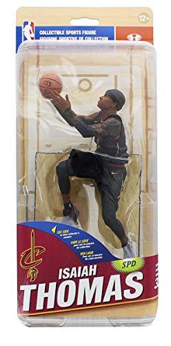 Cleveland Cavaliers McFarlane NBA Series 32 Action Figure: Isaiah Thomas (Black Jersey Variant) - Infinity Jersey
