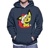 Cloud City 7 Christmas Pichu Pokemon Men's Hooded Sweatshirt
