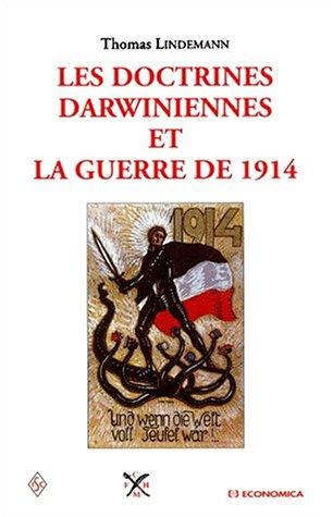 Les doctrines darwiniennes et la guerre de 1914