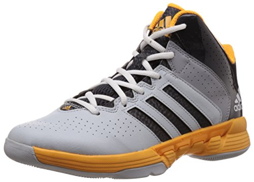 adidas Cross EM 3 Men's Light Onix, Night Grey and Solar Gold Basketball Shoes - 12 UK  available at amazon for Rs.4999
