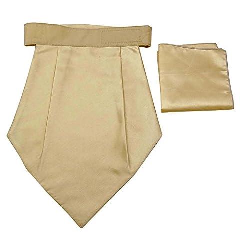 Poly Satin Tuxedo Couture Mariage Foulard Cravates Cravat Ascot