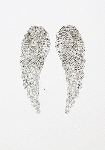 Talisman Karte–Engel Flügel # TAL2, Talisman Reihe von Counting Stars (Charms für viel Glück, Hoffnung, Stärke, Mut, Schutz, Segen, Wisdom,...
