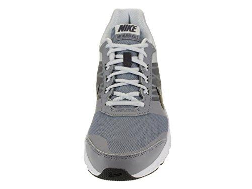 Nike Air Relentless 5, Chaussures de Sport Homme Stealth/Mtlc Hmtt-Pr Pltnm-White