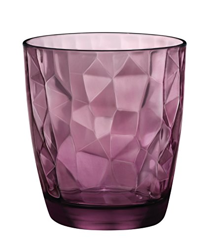Diamond 3.02258 - Set de 6 vasos (36 cl), color morado