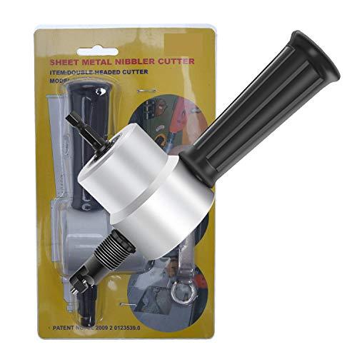HEWEGO YT160A Metall Schneidwerkzeug Nibbler Schneidebogen Doppelkopf Cutter Säge Bohrer Befestigung