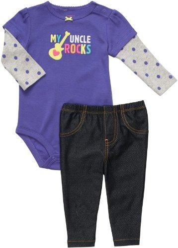Carter's Bodysuit & Pant Set - Uncle Rocks-NB