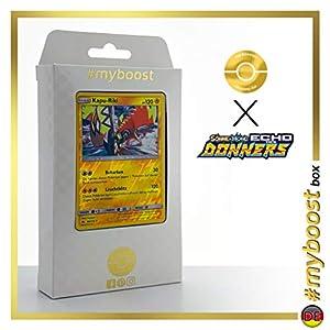 Kapu-Riki (Tapu Koko) 85/214 Holo Reverse - #myboost X Sonne & Mond 8 Echo Des Donners - Box de 10 Cartas Pokémon Alemán