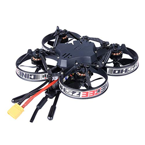 SUNFANY Indoor FPV Racing Drone,iFlight CineBee 75HD Indoor FPV Racing Drone Mini Quadcopter 75mm Whoop W/R-XSR - Mini Quadcopter 75mm Whoop W/FUTABA FASST Mini SUBS