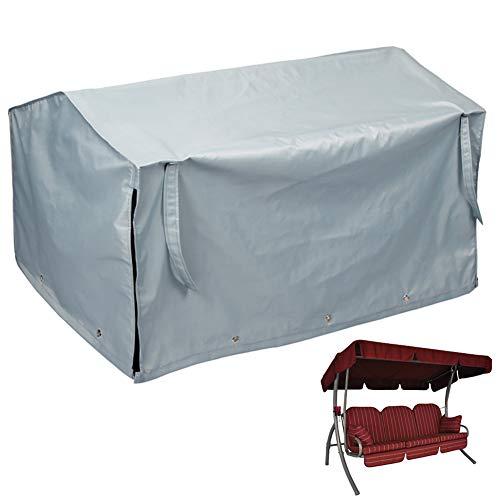Hentex Cover Schutzhülle für Hollywoodschaukel Triumph 3-4 Sitzer Gartenschaukel XXL 240x150x135cm