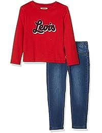 Levi's kids Outfit, Conjunto para Niños, (Assortiment 99), 2-3 años (Talla del Fabricante: 36M)