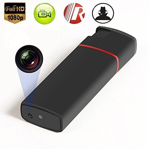 feuerzeug mit kamera Versteckte Spion Kamera HD 1080P Feuerzeug USB DVR Kindermädchen Cam U Disk Video Recorder Tragbare Mini DV IR Automatische Nachtsicht Ohne Objektiv Loch