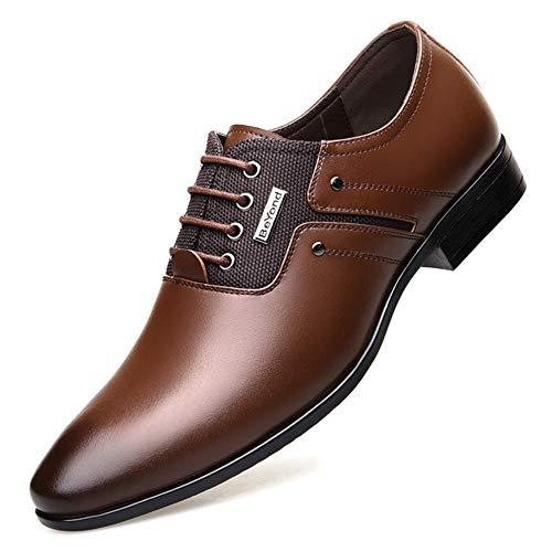 Männer Business Kleid Schuhe Frühling Herbst Müßiggänger Spitze Schuh Formale Hochzeitsschuhe Mezlan Lace-up Oxfords