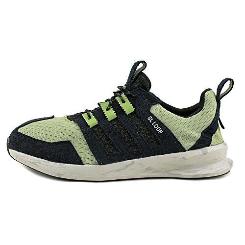 Adidas SL LO Textile Laufschuh Sttegr/Cblack/Mgsogr
