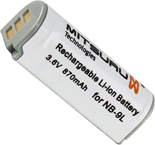 Mitsuru-Batteria-di-riserva-per-Canon-PowerShot-N-Canon-Ixus-1000-HS-1100-HS-500HS-510-HS-IXY50S-SD4500IS-adatta-a-Canon-NB-9L